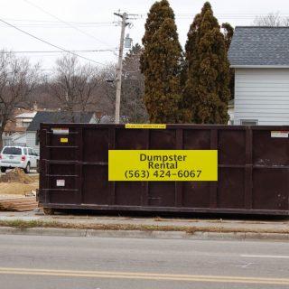 roll off dumpster rental near me